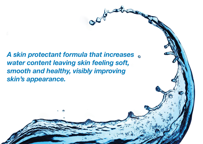 Skin protectant formula water wave