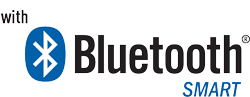 With Bluetooth Smart Logo