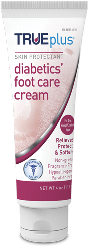 TRUE Plus Foot Care Cream Tube