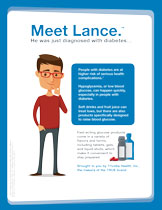 Meet Lance High and Low Blood Glucose Levels